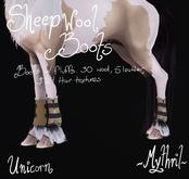 ~Mythril~ Sheepwool Boots: Unicorn