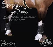 ~Mythril~ Sheepwool Boots: Friesian