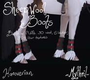 ~Mythril~ Sheepwool Boots: Hanoverian