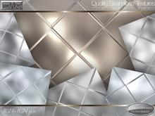 Texture Town Seamless Glass Mirror Diamond Tile Textures 1-6