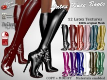 -VD- Latex Knee Boots - Maitreya , Slink , Belleza