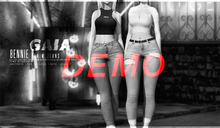 Gaia - Bennie Denim Jeans DEMO