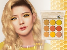 m i z u r u - Honey Eyes shadow Lelutka/BOM