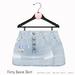 Gaia - Flirty Denim Skirt LIGHT