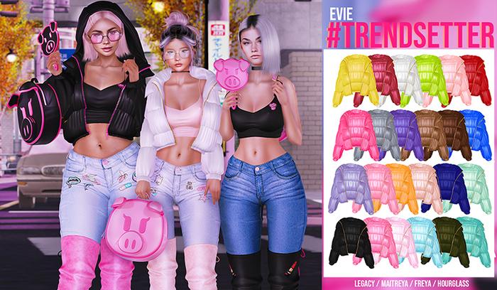 EVIE - Trendsetter Jacket [Fatpack]