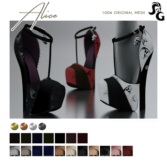 ::SG:: Alice Shoes - LEGACY