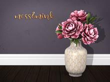 {moss&mink} Vivienne Roses Vase