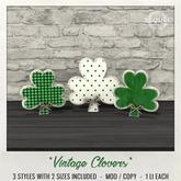 Sequel - Vintage Clovers - St Patrick's Day Decoration