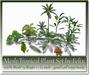 Mesh Tropical Plantset by Felix 13 shape=1 Li each c-m