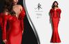 [KR] CAMELIA DRESS -Red-  (wear)