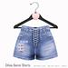 Gaia - Chloe Denim Shorts BLUE