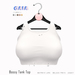 Gaia - Bossy Tank Top WHITE