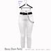 Gaia - Bossy Chain Pants WHITE