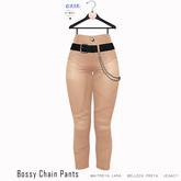 Gaia - Bossy Chain Pants NUDE