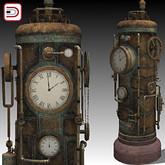 [Danielito] Steampunk Clock