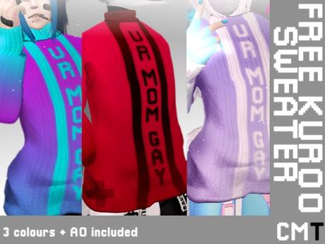 NTG Free Kuroo Sweater