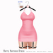 Gaia - Berry Harness Dress BABYPINK