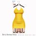 Gaia - Berry Harness Dress SUN