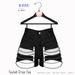 Gaia - Taylah Chain Shorts BLACK
