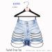 Gaia - Taylah Chain Shorts SKY
