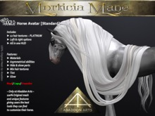 ABADDON ARTS - Morticia Mane S~PLATINUM [TH AV Standard]