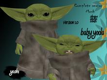 Avatar mesh  Baby Yoda (bento)