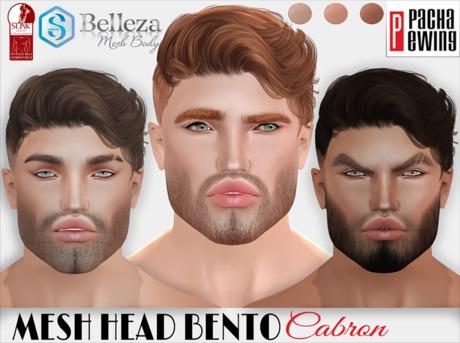 Pacha Ewing-Mesh head_Cabron_Bento