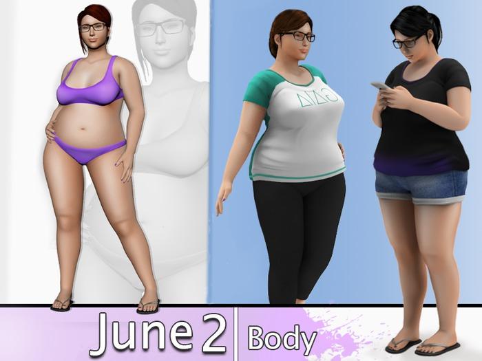 piggu June 2.0 Body  -- UPDATED Sept. 15
