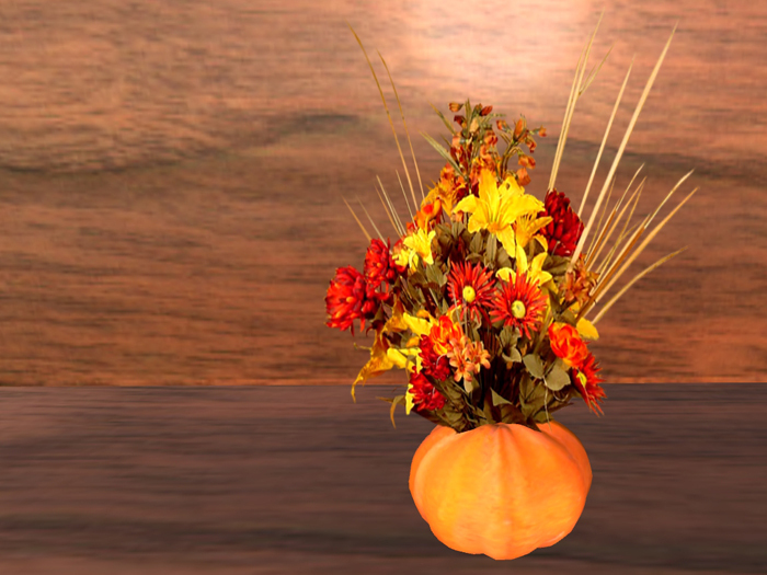 Second Life Marketplace October Vase Of The Month Ideal Birthday Flowers Or Rez Day Gift