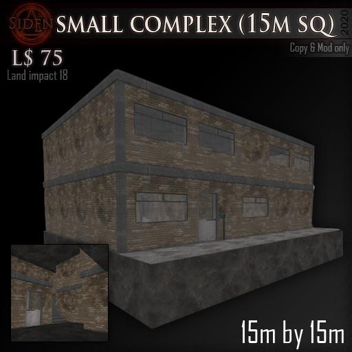 (Box) small complex (15m sq)