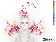 Zibska ~ Ari Color Change Shoulders and Headpeice