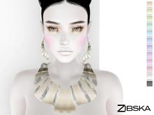 Zibska ~ Annuska Color Change Necklace and Earrings