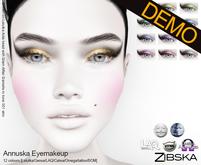 Zibska ~ Annuska Eyemakeup Demos [lelutka/genus/laq/catwa/omega/universal tattoo/BOM layer]