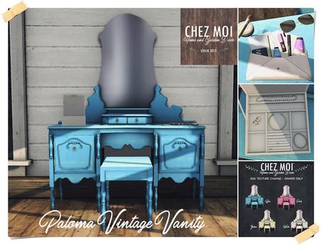 Paloma Vintage Vanity ♥ CHEZ MOI