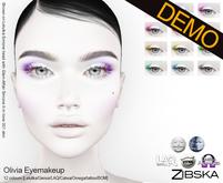 Zibska ~ Olivia Eyemakeup Demos [lelutka/genus/laq/catwa/omega/universal tattoo/BOM layer]