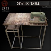 (Box) Sewing table