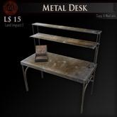 (Box) Metal Desk