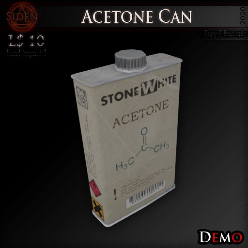 (Demo) Acetone Can