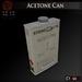 Dem acetone can