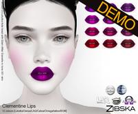 Zibska ~ Clementine Lips Demos [lelutka/genus/laq/catwa/omega/universal tattoo/BOM layer]
