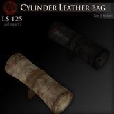 (Box) Cylinder Leather bag
