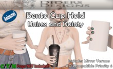 Bento Cup Hold P6 mirrored AO and Sit compatible