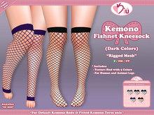 *>Kiu<* - Kemono Fishnet Kneesock_DC