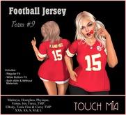 TOUCH MIA - Ladies Football Jersey - Team #9