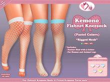 *>Kiu<* - Kemono Fishnet Kneesock_PC