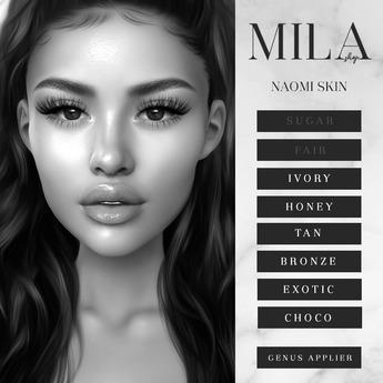 . MILA . Naomi Skin (Genus) DEMO