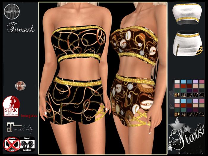 Stars - Maitreya, Legacy, Hourglass - Mariana top & skirt