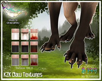 KZK Dire Wolf - Claw Textures