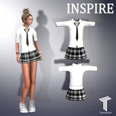 INSPIRE School Girl Uniform [Tweenster[