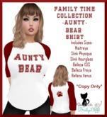 {BL}FTC-Aunty Bear Shirt-Womens